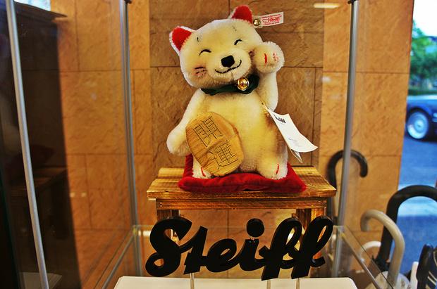 Steiff 招き猫.jpg